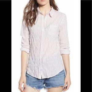 Rails Farrah Kenji striped button down shirt